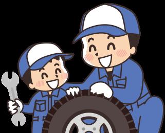 タイヤ持込作業承ります
